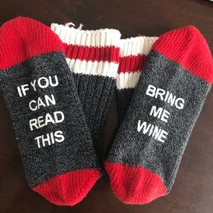 Accessories - Bring me wine socks